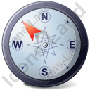 Wind Direction NW Icon