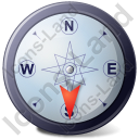 Wind Direction S Icon, PNG/ICO, 128x128