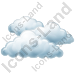 Cloudy Icon, PNG/ICO, 256x256