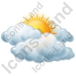 Cloudy Mostly Icon