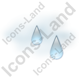 Humidity Icon, PNG/ICO, 256x256