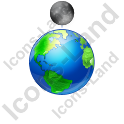 Moon Phase New Earth Icon