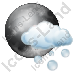 Night Hail Occasional Icon, PNG/ICO, 256x256