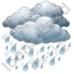 Rain Heavy Icon