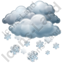 Snow Icon, PNG/ICO, 256x256
