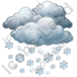Snow Heavy Icon, PNG/ICO, 256x256