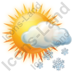 Snow Occasional Icon, AI, 256x256