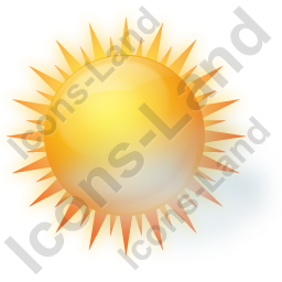 Sunny With Haze Icon, PNG/ICO, 256x256