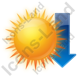 Sunset Arrow Icon