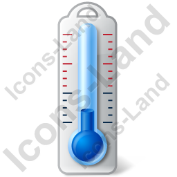 Thermometer Air Cold Icon, PNG/ICO, 256x256