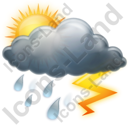 Thunderstorm Occasional Icon