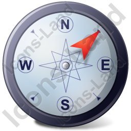 Wind Direction NE Icon, PNG/ICO, 256x256