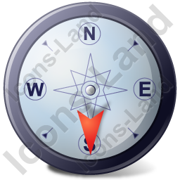 Wind Direction S Icon