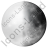 Moon Phase First Quarter Icon