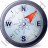 Wind Direction NE Icon, PNG/ICO, 48x48