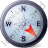 Wind Direction SE Icon, PNG/ICO, 48x48