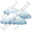 Cloudy Icon, PNG/ICO, 64x64
