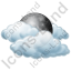 Night Cloudy Mostly Icon