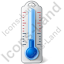 Thermometer Air Cold Icon, PNG/ICO, 64x64