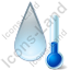 Thermometer Raindrop Icon