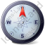 Wind Direction N Icon