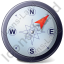 Wind Direction NE Icon, PNG/ICO, 64x64