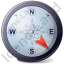 Wind Direction SE Icon, PNG/ICO, 64x64